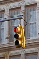 Traffic Light on red, New York, United States of America