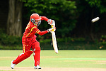 Song Fengfeng of China in action during their ICC 2016 Women's World Cup Asia Qualifier match between China and Nepal  on 11 October 2016 at the Kowloon Cricket Club in Hong Kong, China. Photo by Marcio Machado / Power Sport Images