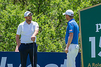 Matthew Southgate (ENG) and Justin Harding (RSA) during the 3rd round at the Nedbank Golf Challenge hosted by Gary Player,  Gary Player country Club, Sun City, Rustenburg, South Africa. 16/11/2019 <br /> Picture: Golffile | Tyrone Winfield<br /> <br /> <br /> All photo usage must carry mandatory copyright credit (© Golffile | Tyrone Winfield)