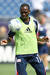 11 July 2009: New England's Kheli Dube. The New England Revolution played the Kansas City Wizards to a 0-0 tie at Gillette Stadium in Foxboro, Massachusetts in a regular season Major League Soccer game.