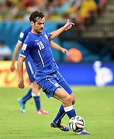 FUSSBALL WM 2014  VORRUNDE    Gruppe D     England - Italien                         14.06.2014 Marco Parolo (Italien) am Ball