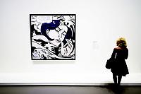 Illustration Ambiance / Roy Lichtenstein - Drowing Girl<br /> Parigi 16-10-2017 MoMa <br /> Esposizione Arte moderna <br /> Foto JB Autissier / Panoramic / Insidefoto