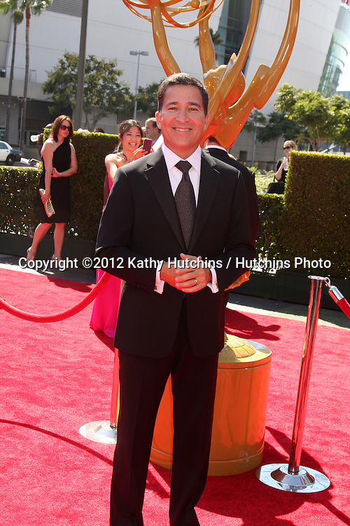 LOS ANGELES - SEP 15:  Bruce Rosenblum arrives at the  Primetime Creative Emmys 2012 at Nokia Theater on September 15, 2012 in Los Angeles, CA