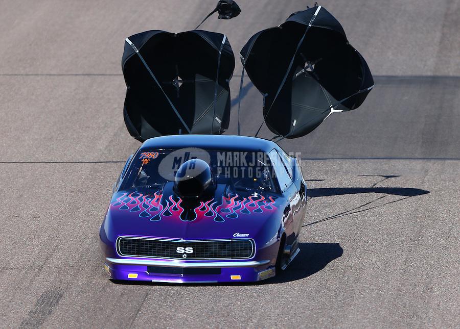 Feb 28, 2016; Chandler, AZ, USA; NHRA top sportsman driver XXXX during the Carquest Nationals at Wild Horse Pass Motorsports Park. Mandatory Credit: Mark J. Rebilas-