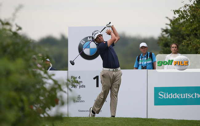 Nacho Elvira (ESP) in peaking form with a 68 during Round Two of the BMW International Open 2014 from Golf Club Gut Lärchenhof, Pulheim, Köln, Germany. Picture:  David Lloyd / www.golffile.ie