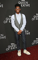 "20 September 2016 - Hollywood, California - Kamil McFadden. ""Queen Of Katwe"" Los Angeles Premiere held at the El Capitan Theater in Hollywood. Photo Credit: AdMedia"