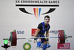25/07/2014 - Mens 62KG Weightlifting - Clyde Auditorium - Glasgow - UK