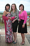 Gabrielle Yates, Karla Fox and Veronica Fehlan at the Bellewstown Races..Photo NEWSFILE/Jenny Matthews.(Photo credit should read Jenny Matthews/NEWSFILE)....This Picture has been sent you under the condtions enclosed by:.Newsfile Ltd..The Studio,.Millmount Abbey,.Drogheda,.Co Meath..Ireland..Tel: +353(0)41-9871240.Fax: +353(0)41-9871260.GSM: +353(0)86-2500958.email: pictures@newsfile.ie.www.newsfile.ie.FTP: 193.120.102.198.