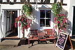Tickled Pink tea room, Lavenham, Suffolk, England