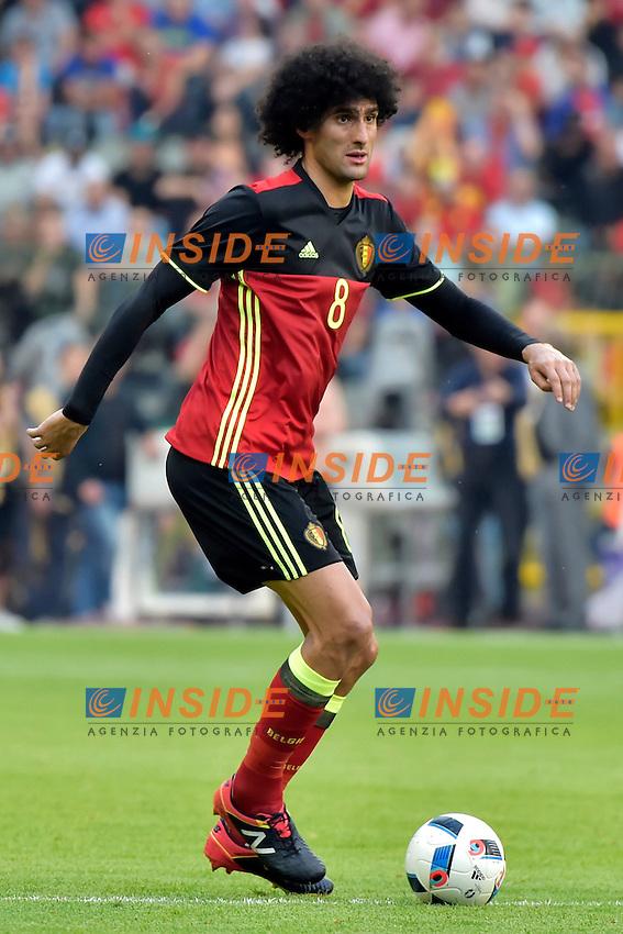 Fellaini Marouane midfielder of Belgium <br /> Bruxelles 05-06-2016 Calcio Amichevole Belgio Norvegia<br /> Foto Photonews/Panoramic/Insidefoto