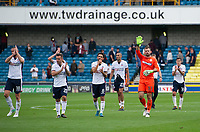 Bolton Wanderers' goalkeeper Mark Howard salutes the fans<br /> <br /> Photographer Ashley Western/CameraSport<br /> <br /> The EFL Sky Bet Championship - Millwall v Bolton Wanderers - Saturday August 12th 2017 - The Den - London<br /> <br /> World Copyright &not;&copy; 2017 CameraSport. All rights reserved. 43 Linden Ave. Countesthorpe. Leicester. England. LE8 5PG - Tel: +44 (0) 116 277 4147 - admin@camerasport.com - www.camerasport.com