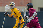 Los Angeles, CA 02/15/14 - Cooper Pickell (Arizona State #15) and unidentified Stanford player(s)