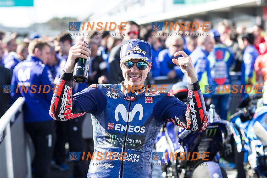 MAVERICK VINALES - SPANISH - MOVISTAR YAMAHA MotoGP - YAMAHA<br /> Phillip Island ( Melbourne ) 28-10-2018 <br /> Moto Gp Australia <br /> Foto Vincent Guignet / Panoramic / Insidefoto