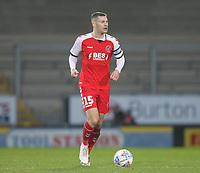 Fleetwood Town's Paul Coutts <br /> <br /> Photographer Mick Walker/CameraSport<br /> <br /> The EFL Sky Bet League One - Burton Albion v Fleetwood Town - Saturday 11th January 2020 - Pirelli Stadium - Burton upon Trent<br /> <br /> World Copyright © 2020 CameraSport. All rights reserved. 43 Linden Ave. Countesthorpe. Leicester. England. LE8 5PG - Tel: +44 (0) 116 277 4147 - admin@camerasport.com - www.camerasport.com