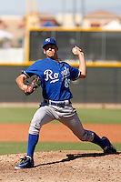 Brian Peacock - Kansas City Royals 2009 Instructional League. .Photo by:  Bill Mitchell/Four Seam Images..