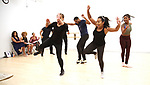 """Dancers During the Open Rehearsal for the Miami New Drama's World Premiere Musical  """"A Wonderful World"""" at the Ripley-Grier Studios on January 26, 2020 in New York City."""