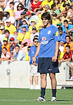 08 September 2007: Kaka. The Brazil Men's National Team practiced at Toyota Park in Bridgeview, Illinois.