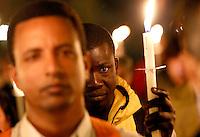 20131004 ROMA-CRONACA: VEGLIA PER I MIGRANTI MORTI A LAMPEDUSA
