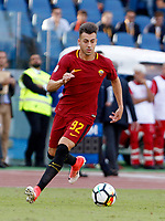 Calcio, Serie A: Roma vs Udinese. Roma, stadio Olimpico, 23 settembre 2017.<br /> Roma&rsquo;s Stephan El Shaarawy in action during the Italian Serie A football match between Roma and Udinese at Rome's Olympic stadium, 23 September 2017. Roma won 3-1.<br /> UPDATE IMAGES PRESS/Riccardo De Luca