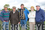 Jimmy O'Connell, John Courtney, James Mahony, Sheila and Jimmy Greaney the Castleisland enjoying at Castleisland Races on Saturday..