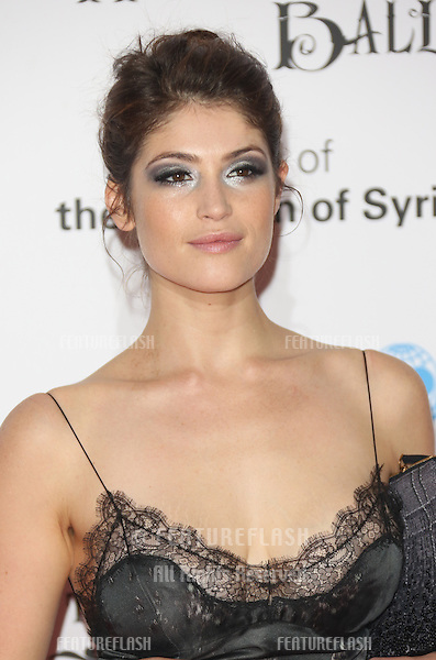 Gemma Arterton at the UNICEF UK Halloween Ball held at One Mayfair, London. 31/10/2013 Picture by: Henry Harris / Featureflash