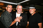 Guiding Light's Jordan Clarke - Ron Raines - Robert Newman - Day 5 -  August 4, 2010 on the Lido Deck - So Long Springfield at Sea - A Final Farewell Cocktail Party for Guiding Light sets sail from NYC to St. John, New Brunwsick and Halifax, Nova Scotia from July 31 to August 5, 2010  aboard Carnival's Glory (Photos by Sue Coflin/Max Photos)