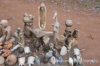 Africa, Swaziland, Malkerns. LOcal craft market.
