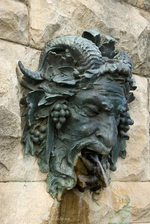 Biltmore Estate Bacchus Fountain