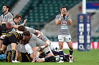 Nicholas Allsop of Cheshire celebrates. Bill Beaumont County Championship Division 1 Final between Cheshire and Cornwall on June 2, 2019 at Twickenham Stadium in London, England. Photo by: Patrick Khachfe / Onside Images