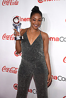 "LAS VEGAS, NV - APRIL 26: Recipient of the ""Female Star of Tomorrow, Tiffany Haddish attends the CinemaCon Big Screen Achievement Awards at CinemaCon 2018 at The Colosseum at Caesars Palace on April 26, 2018 in Las Vegas, Nevada. (Photo by Frank Micelotta/PictureGroup)"