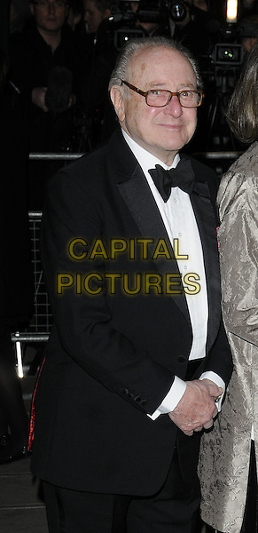 SIR DEREK JACOBI .The world premiere of 'Love Never Dies', Adelphi Theatre, London, England. .March 9th, 2010 .half length black tuxedo glasses .CAP/CAN.©Can Nguyen/Capital Pictures.