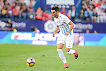 "Malaga CF Juan Carlos ""Juankar"" Perez during a match of La Liga Santander at Vicente Calderon Stadium in Madrid. October 29, Spain. 2016. (ALTERPHOTOS/BorjaB.Hojas)"