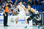 Real Madrid vs Kimhki game of Turkish Airlines Euroleague of Basketball in Madrid