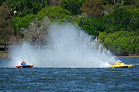"Sean Bowsher Y-52 and Dan Kanfoush, Y-1 ""Fast Eddie Too""  (1 Litre MOD hydroplane(s)"