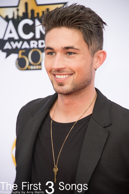Michael Ray attends the 50th Academy Of Country Music Awards at AT&T Stadium on April 19, 2015 in Arlington, Texas.