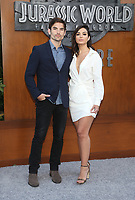 LOS ANGELES, CA - JUNE 12: Jared Haibon, Ashley Iaconetti, at Jurassic World: Fallen Kingdom Premiere at Walt Disney Concert Hall, Los Angeles Music Center in Los Angeles, California on June 12, 2018. Credit: Faye Sadou/MediaPunch