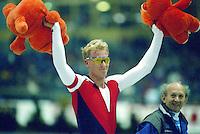 SCHAATSEN: HEERENVEEN: 1996, IJSSTADION THIALF, Rintje Ritsma, ©LC Jan de Vries