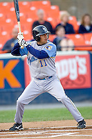 Marcial, Robert 1406.jpg. Carolina League Myrtle Beach Pelicans at the Frederick Keys at Harry Grove Stadium on May 13th 2009 in Frederick, Maryland. Photo by Andrew Woolley.