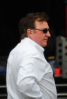 May 31, 2008; Dover, DE, USA; Nascar Sprint Cup Series team owner Richard Childress during practice for the Best Buy 400 at the Dover International Speedway. Mandatory Credit: Mark J. Rebilas-