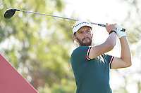 Joost Luiten (NED) on the 9th tee during Round 1 of the Abu Dhabi HSBC Championship 2020 at the Abu Dhabi Golf Club, Abu Dhabi, United Arab Emirates. 16/01/2020<br /> Picture: Golffile | Thos Caffrey<br /> <br /> <br /> All photo usage must carry mandatory copyright credit (© Golffile | Thos Caffrey)