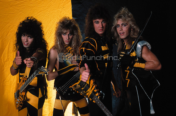 Stryper<br /> 1987<br /> **HIGHER RATES**<br /> &copy; RTMarino / MediaPunch