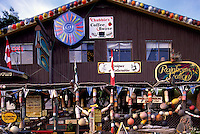 Queen Charlotte Islands (Haida Gwaii), Northern BC, British Columbia, Canada - Gift Shop / Art Gallery / Coffee House in Queen Charlotte City, Graham Island