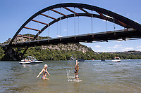 Loop 360 Bridge Boat Ramp & Swimming Beach Park - Stock Photo Image Gallery