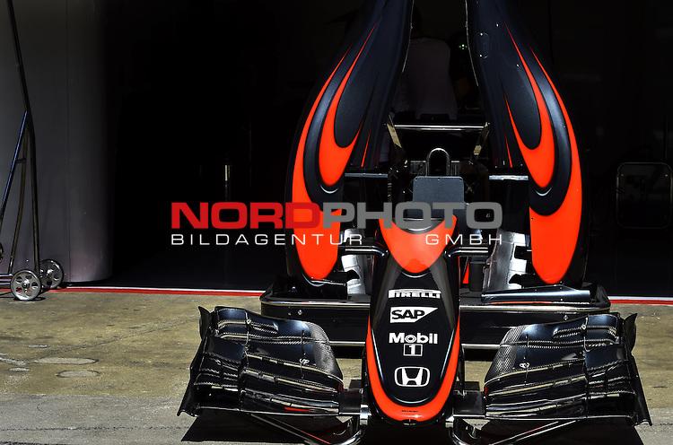 07.05 -  10.05.2015, Circuit de Catalunya, Barcelona, ESP, Formel 1, 2015,  im Bild  McLaren Honda MP4-30<br />  Foto &copy; nph / Mathis