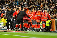 Sevilla's coach Unai Emery during 2014-15 La Liga match between Real Madrid and Sevilla at Santiago Bernabeu stadium in Alcorcon, Madrid, Spain. February 04, 2015. (ALTERPHOTOS/Luis Fernandez) /NORTEphoto.com
