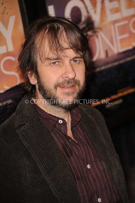 WWW.ACEPIXS.COM . . . . . ....December 2 2009, New York City....Director Peter Jackson arriving at the 'The Lovely Bones' premiere at the Paris Theatre on December 2, 2009 in New York City.....Please byline: KRISTIN CALLAHAN - ACEPIXS.COM.. . . . . . ..Ace Pictures, Inc:  ..(212) 243-8787 or (646) 679 0430..e-mail: picturedesk@acepixs.com..web: http://www.acepixs.com