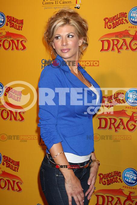 Alexis Bellino at the opening night of Ringling Bros. &amp; Barnum &amp; Bailey's 'Dragons' held at Staples Center on July 12, 2012 in Los Angeles, California. &copy;&nbsp;mpi27/MediaPunch Inc /*NORTEPHOTO*<br /> **SOLO*VENTA*EN*MEXICO**<br /> **CREDITO*OBLIGATORIO** <br /> **No*Venta*A*Terceros**<br /> **No*Sale*So*third**<br /> *** No*Se*Permite Hacer Archivo**<br /> **No*Sale*So*third**