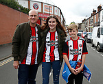 Sheffield Utd fans during the Championship match at Bramall Lane Stadium, Sheffield. Picture date 16th September 2017. Picture credit should read: Simon Bellis/Sportimage