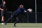 CARY, NC - AUGUST 17: Katelyn Rowland. The North Carolina Courage held a training session on August 17, 2017, at WakeMed Soccer Park Field 3 in Cary, NC.
