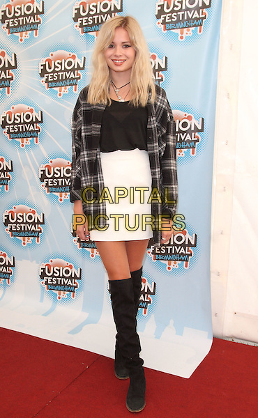 BIRMINGHAM, UNITED KINGDOM - AUGUST 31: Nina Nesbitt during day 2 of Fusion Festival 2014 on August 31, 2014 in Birmingham, England.<br /> CAP/ROS<br /> &copy;Steve Ross/Capital Pictures